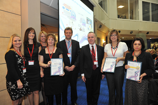 NHS Team of the Year working in diabetes QiC Diabetes